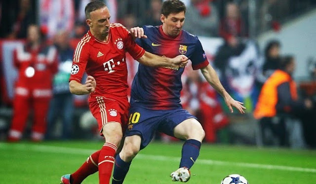 Barcelona vs Bayern Munich en vivo