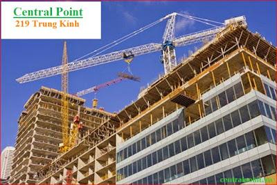 Tiến độ xây dựng chung cư Central Point Trung Kính