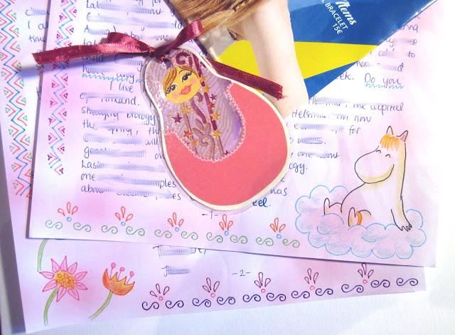 matryoshka moomin letter