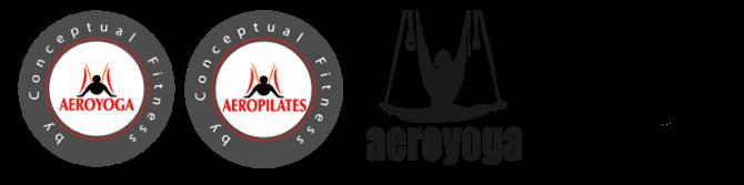 Logos Oficiales de Aeroyoga y Aeopilates