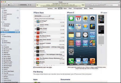 how to connect itunes to iphone 5