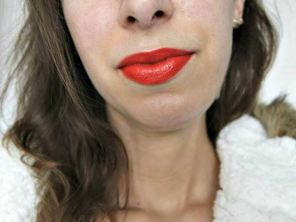 Le rouge à lèvres orange : je sors de ma zone de confort.