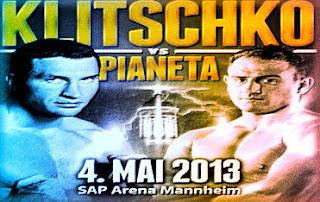 Wladimir Klitschko vs Francesco Pianeta