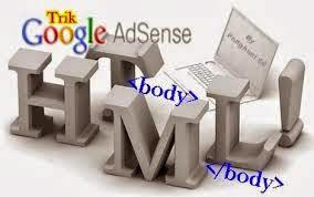 cara pasang kod adsense di blog
