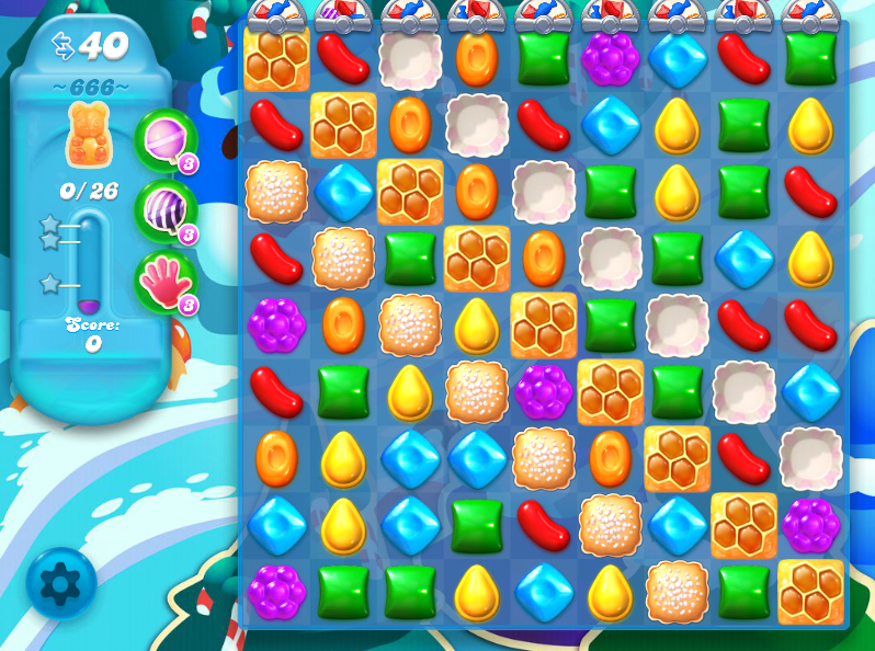 Candy Crush Soda 666