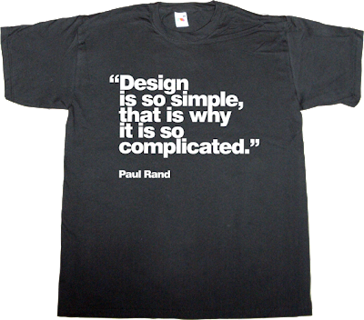paul rand designer graphic design helvetica t-shirt ephemeral-t-shirts