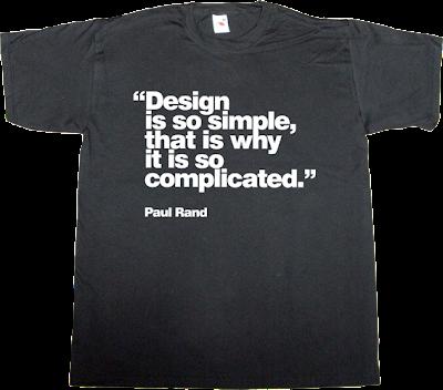 paul rand designer graphic design helvetica t-shirt ephemeral-t-shirts