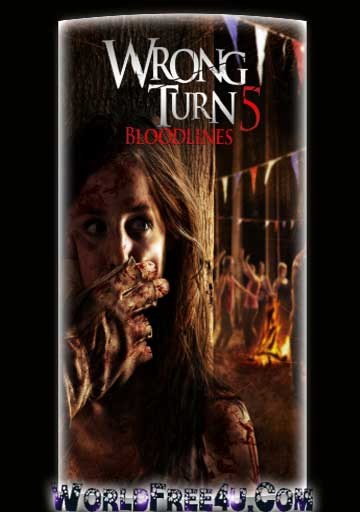 Poster Of Hollywood Film Wrong Turn 5 (2011) In 300MB Compressed Size PC Movie Free Download At worldfree4u.com