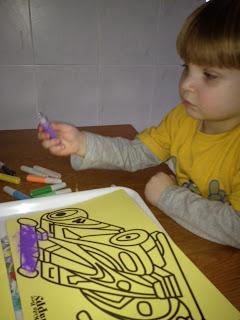 Creating Sand Art