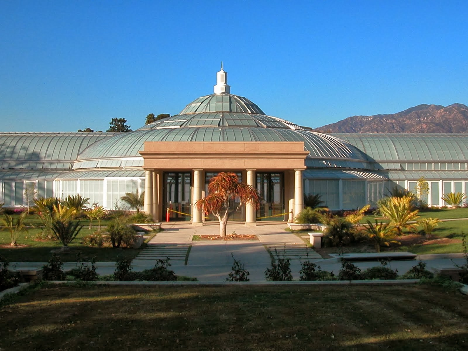 The Rose Hills Foundation Conservatory for Botanical Science, The Huntingdon Botanical Gardens
