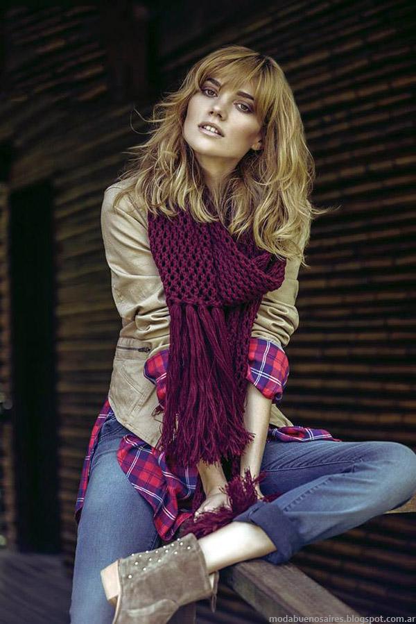 Moda otoño invierno 2015 Sail camperas y camisas de mujer.