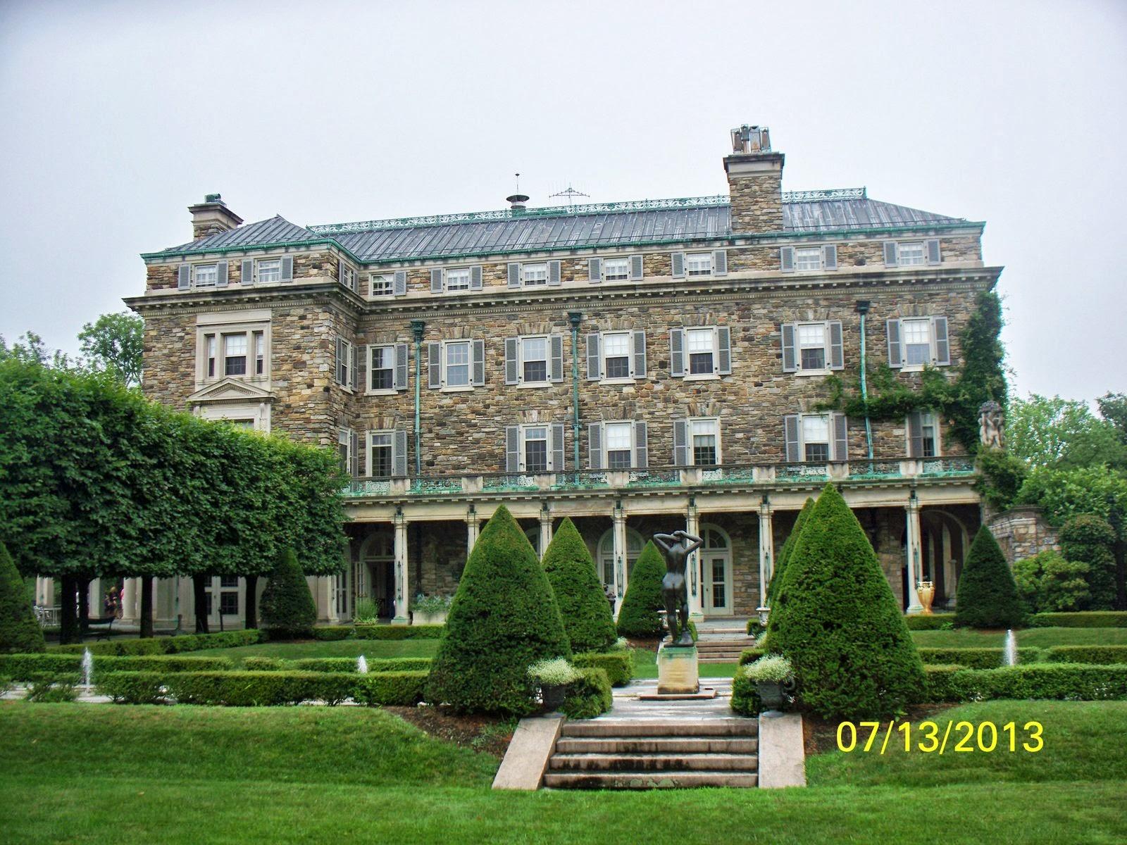 Nanseann Day 272 July 13 Kykuit The Rockefeller Estate