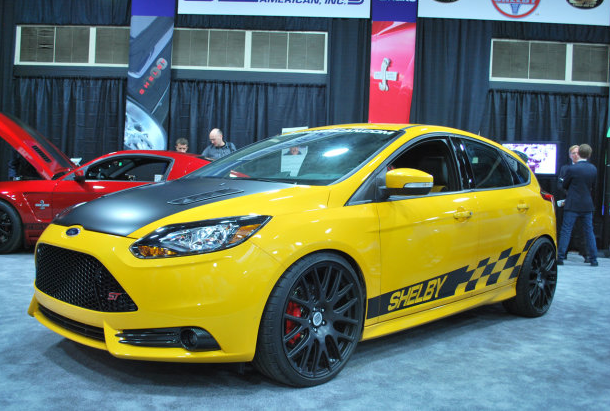 2013 Shelby Ford Focus ST Auto Show Debut