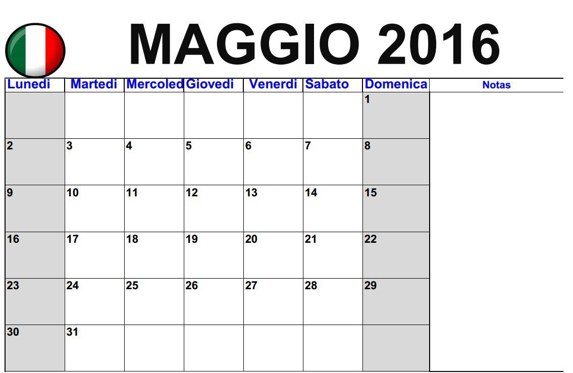 ... - Italiano | 2016 Blank Calendar - calendar en - WWW.ALBUMI.C.LA
