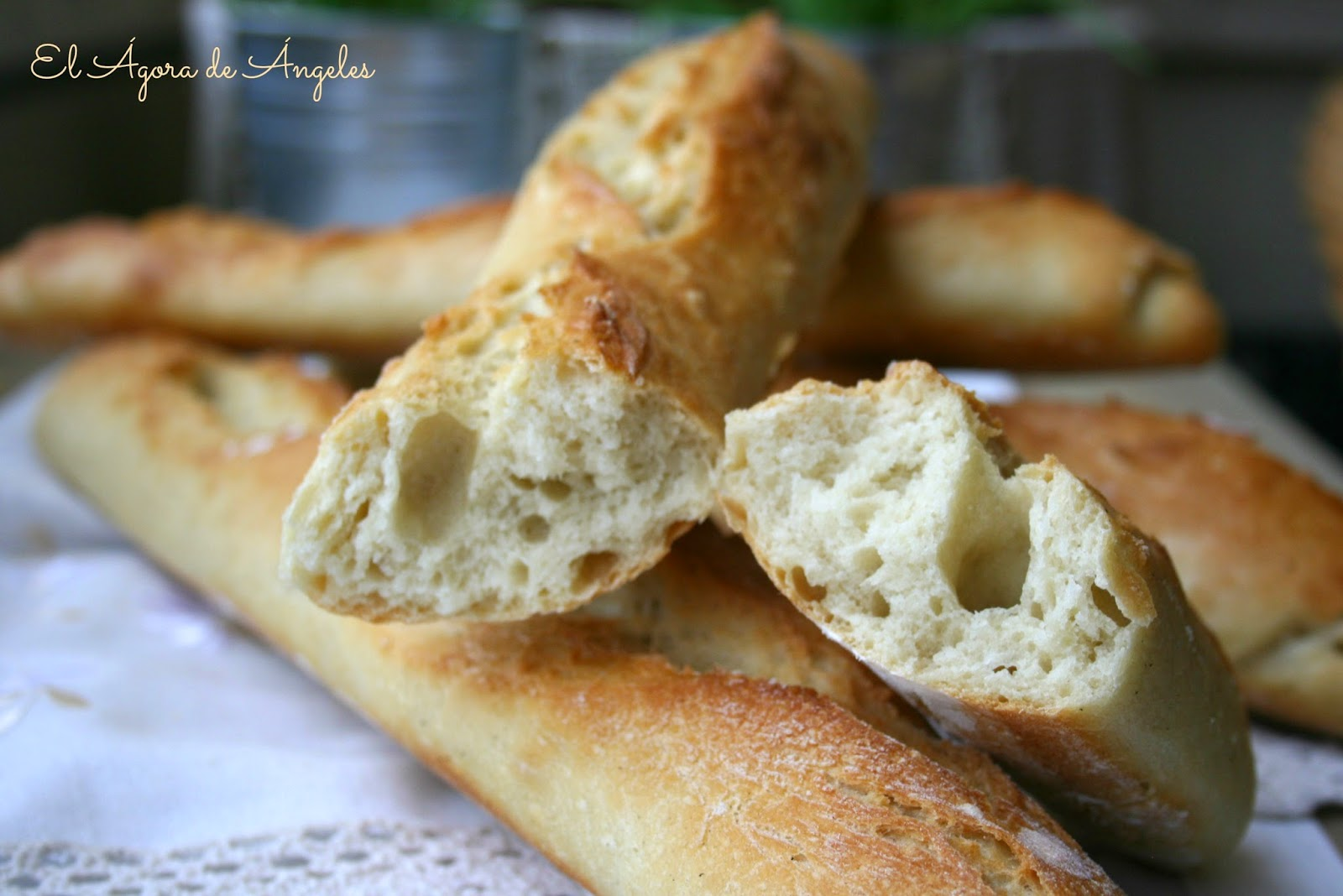 barra de pan  Ibán Yarza