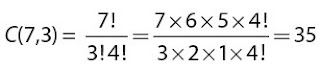 banyaknya kombinasi segitiga