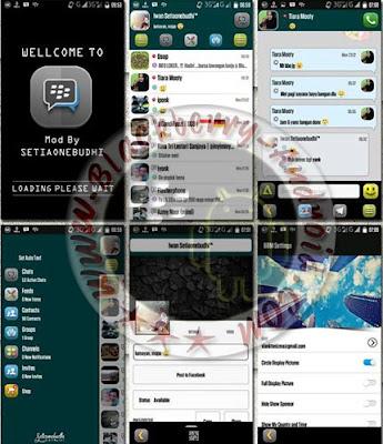 BBM MOD TEMA DOMO STYLE NEW V2.8.0.21 APK
