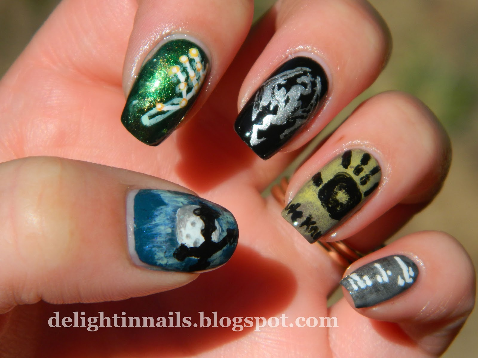 Delight In Nails Geek Nail Challenge Day 3 Games Gaming