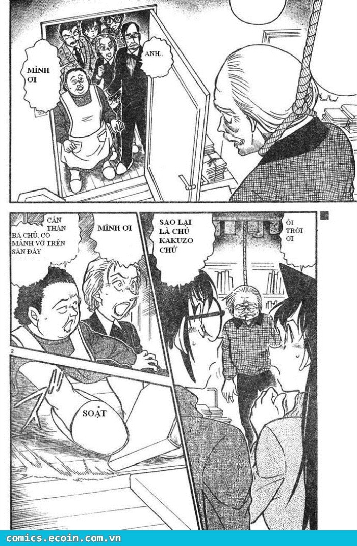 Detective Conan - Thám Tử Lừng Danh Conan chap 589 page 2 - IZTruyenTranh.com