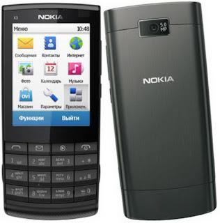 Firmware Nokia X3-02 RM 639 v.07.51