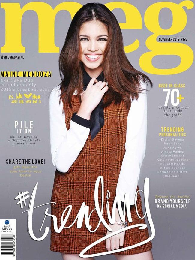 Look:Maine Mendoza on Meg's Magazine