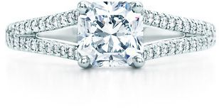 Tiffany Lucinda Engagement Wedding Rings