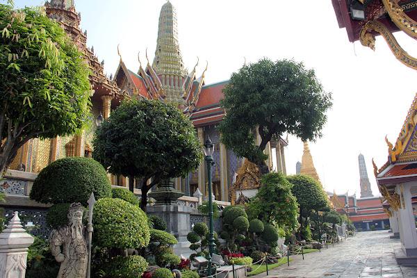 Jardines del Gran Palacio Real de Bangkok