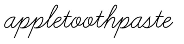 appletoothpaste