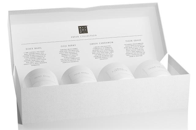 Set de Velas de Regalo Serie Blanca (27,50 euros)