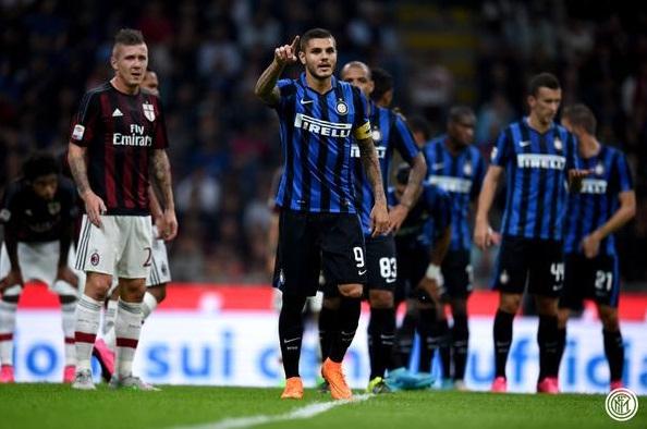 Inter Sukses Taklukkan AC Milan Pada Laga Derby Serie A Dengan Skor 1-0