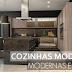Cozinhas moduladas modernas e acessíveis – veja modelos lindos e dicas de como adaptá-las à sua cozinha!