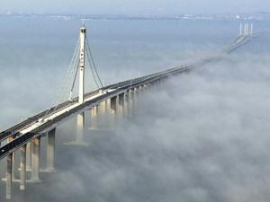 Jiaozhou Bay World 39 S Longest Bridge