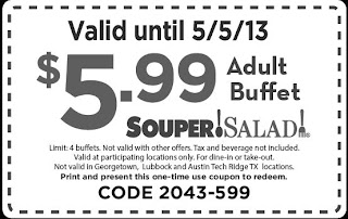 souper salad coupons