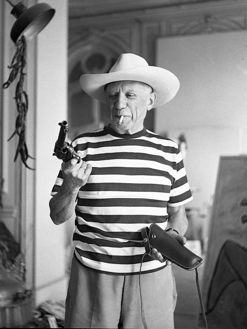 All this is that the time gary cooper gave pablo picasso a cowboy hat