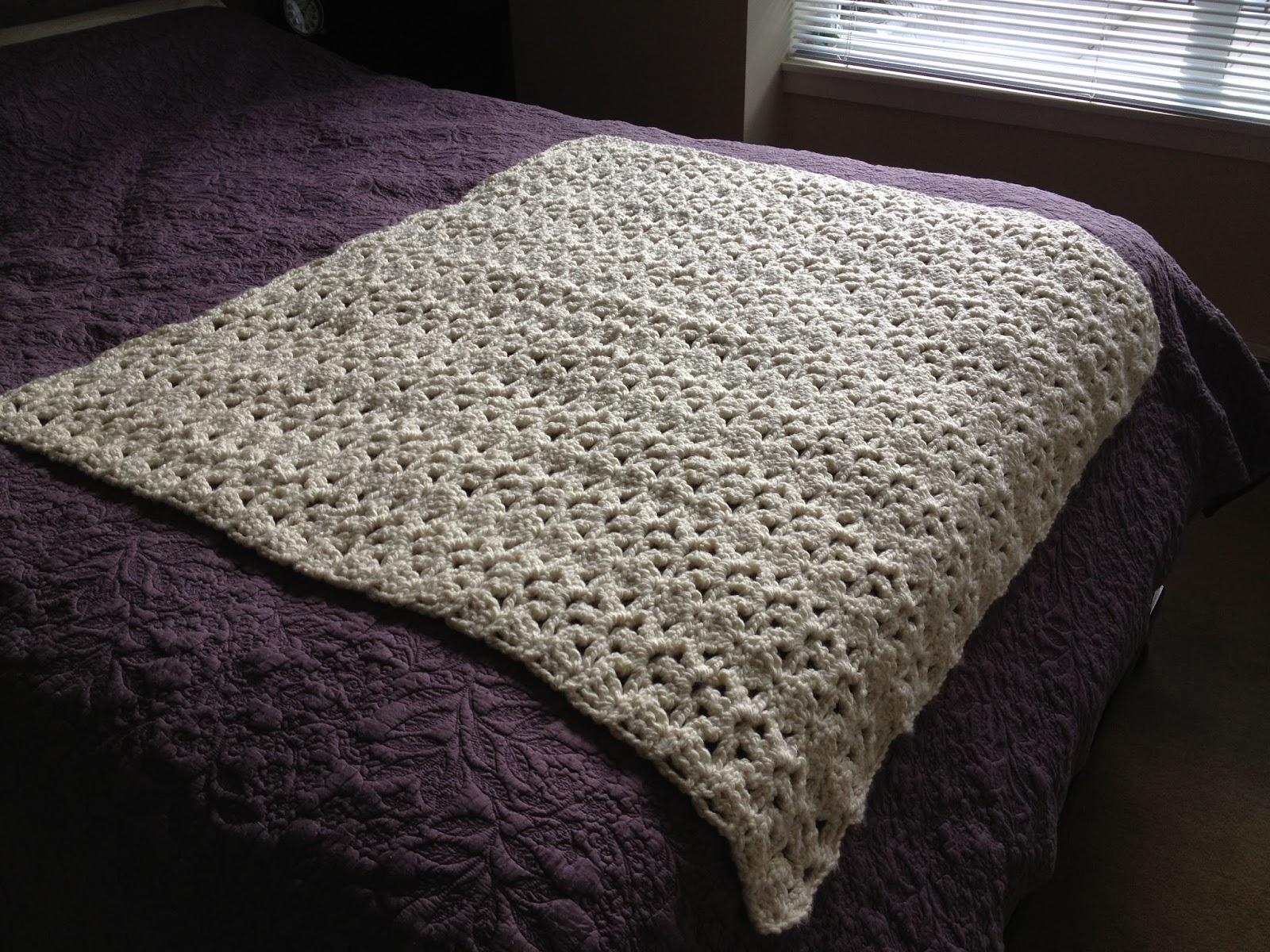 Crochet Patterns One Skein : One Skein Throw
