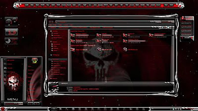 TEMA WINDOWS 7 SKULLS & PINK SKULL