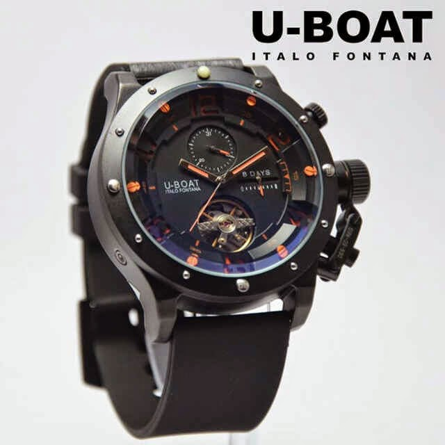 U-Boat Italo Turbilon Black orange