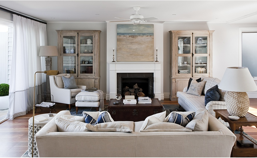 Stylish and casual beach house design by coco republic interiors and design less ordinary Interior beach house designs