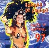 foto da capa do cd sambas de enredo 1997 grupo de acesso