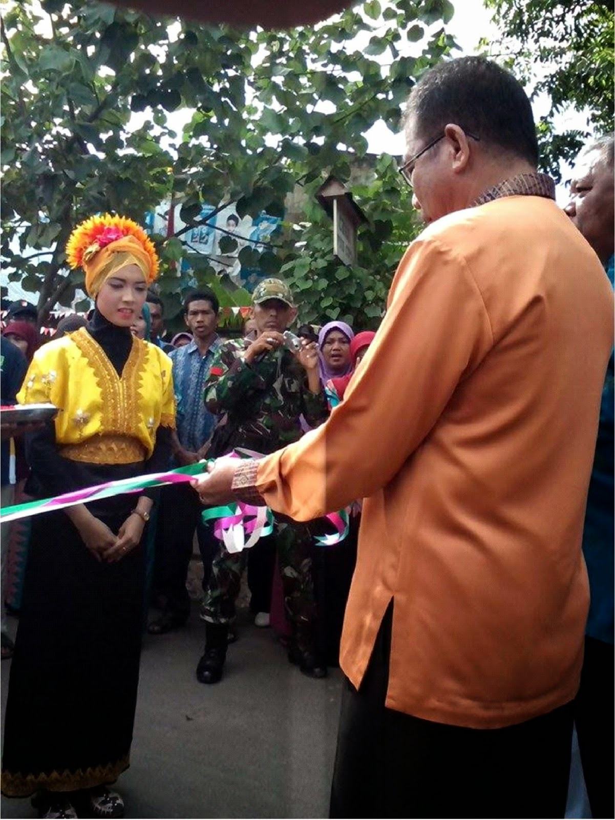 Sangia Wakili Kecamatan Sape Dalam Lomba Desa Tingkat Kabupaten Bima