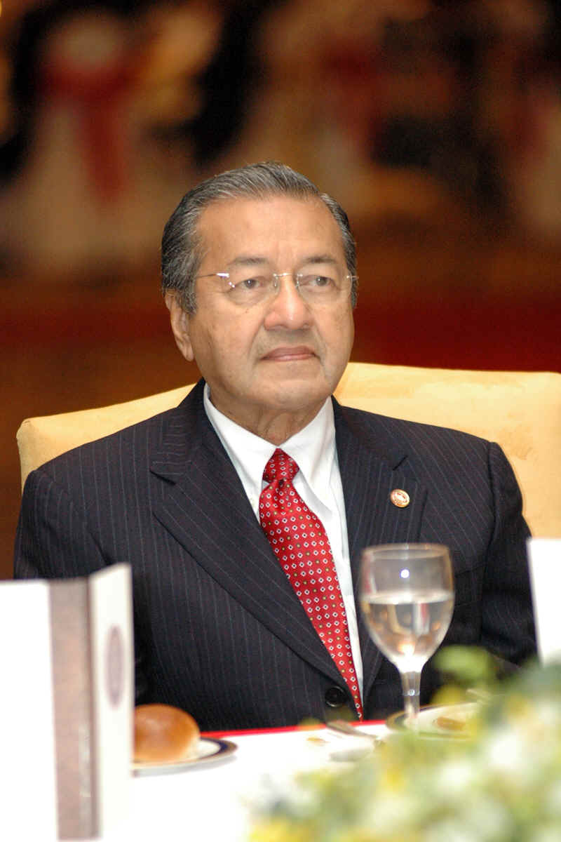 tun dr mahathir bin mohamad 2 essay Former prime minister of malaysia, tun dr mahathir mohamad (b 1925), was at an important stage in his career before retiring from his official duty as the prime minister post-september 11.