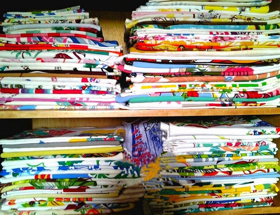 Vintage Printed Tablecloths