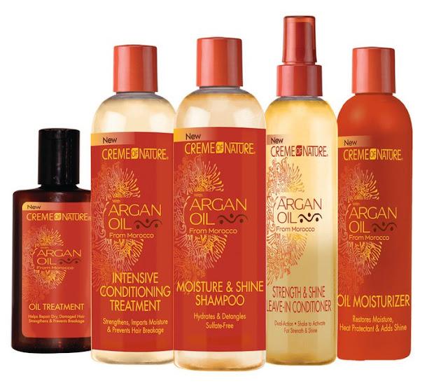 creme of nature argan oil giveaway