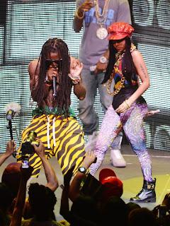 fotos de nicki minaj dj khaled lil wayne birdman y mack maine en miami concierto pink friday