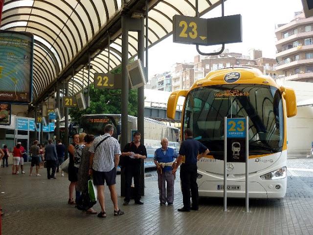 stazione nord, barcelona