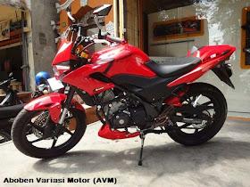Berikut ini beberapa contoh Honda CB150R modifikasi :