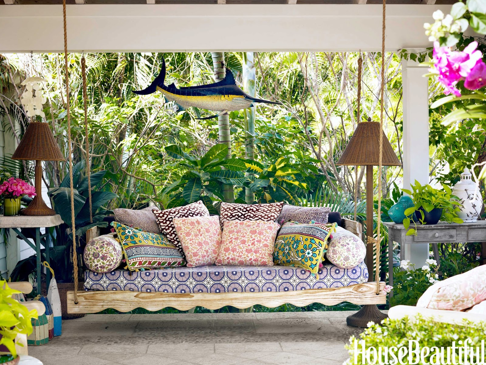 Cococozy palm beach prize pulitzer in purple house for Outdoor furniture india