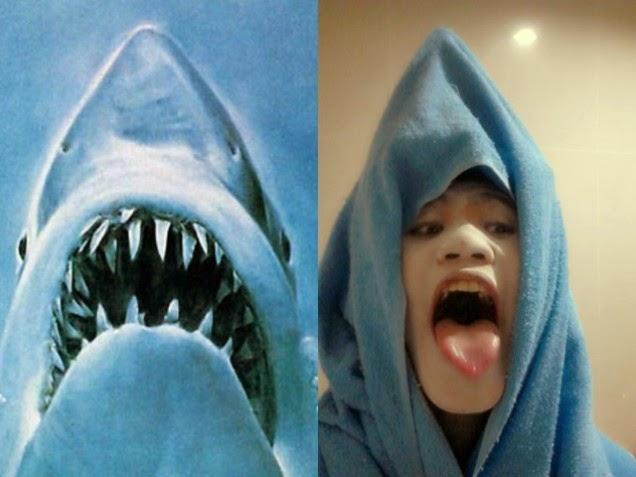 Lowcost Cosplay - Tubarão