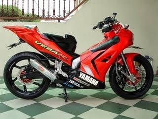 Gambar Modifikasi Motor Vega Z R
