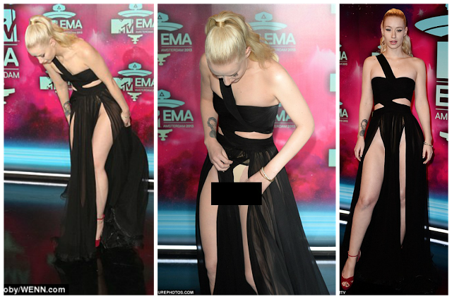 Iggy Azalea Shows Off Fat P*ssy In A Very Harsh Wardrobe Malfunction! Nicki Would Definitely Be Saying 'Yes!' To Her BIGGEST Rival's Malfunction!!